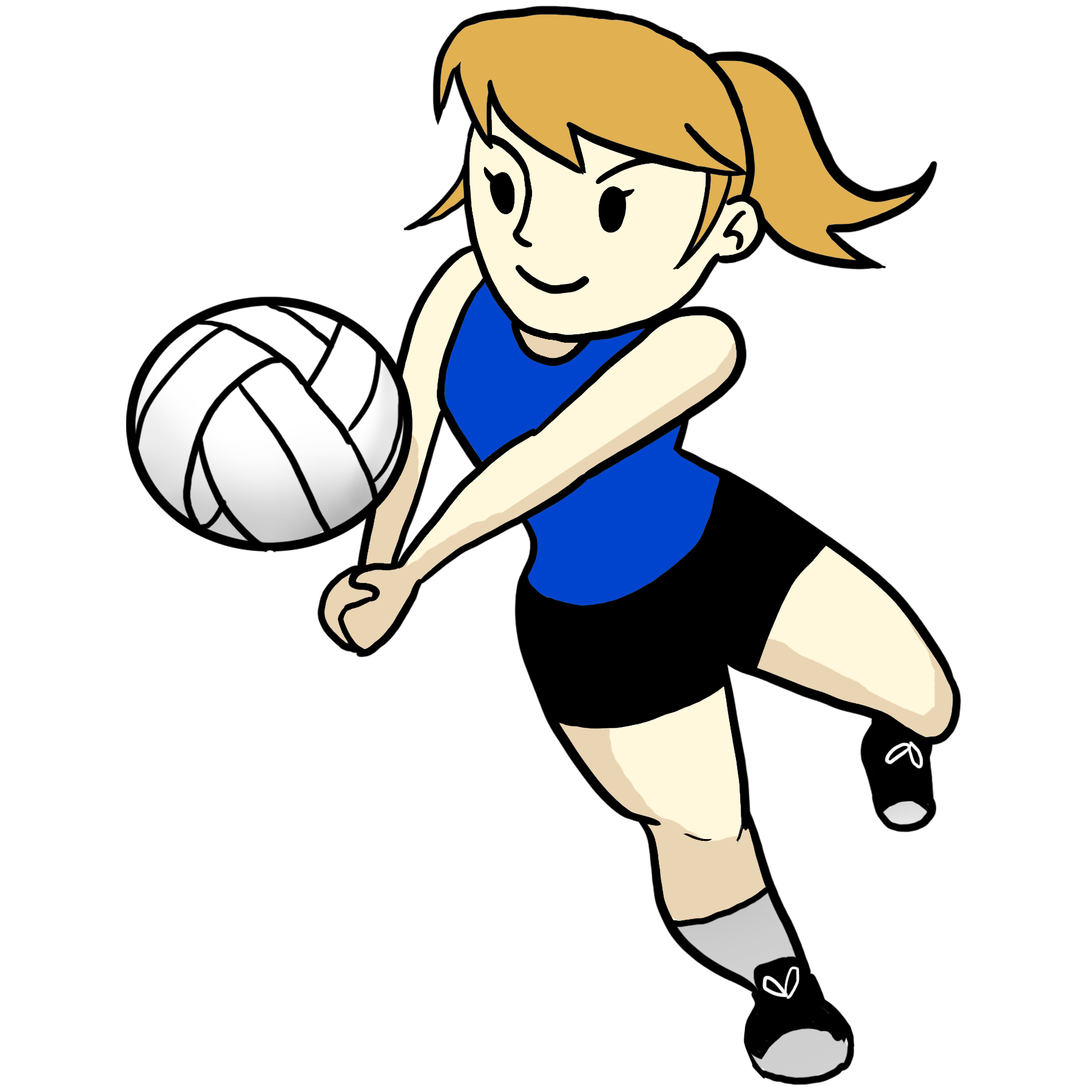 Cartoon Volleyball Pictures - Cliparts.co