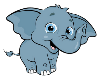 cute baby elephant clipart rh worldartsme com cute elephant clip art free cute girl elephant clipart