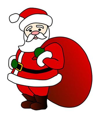 cartoon santa clipart rh worldartsme com santa clip art funny santa clip art free printable