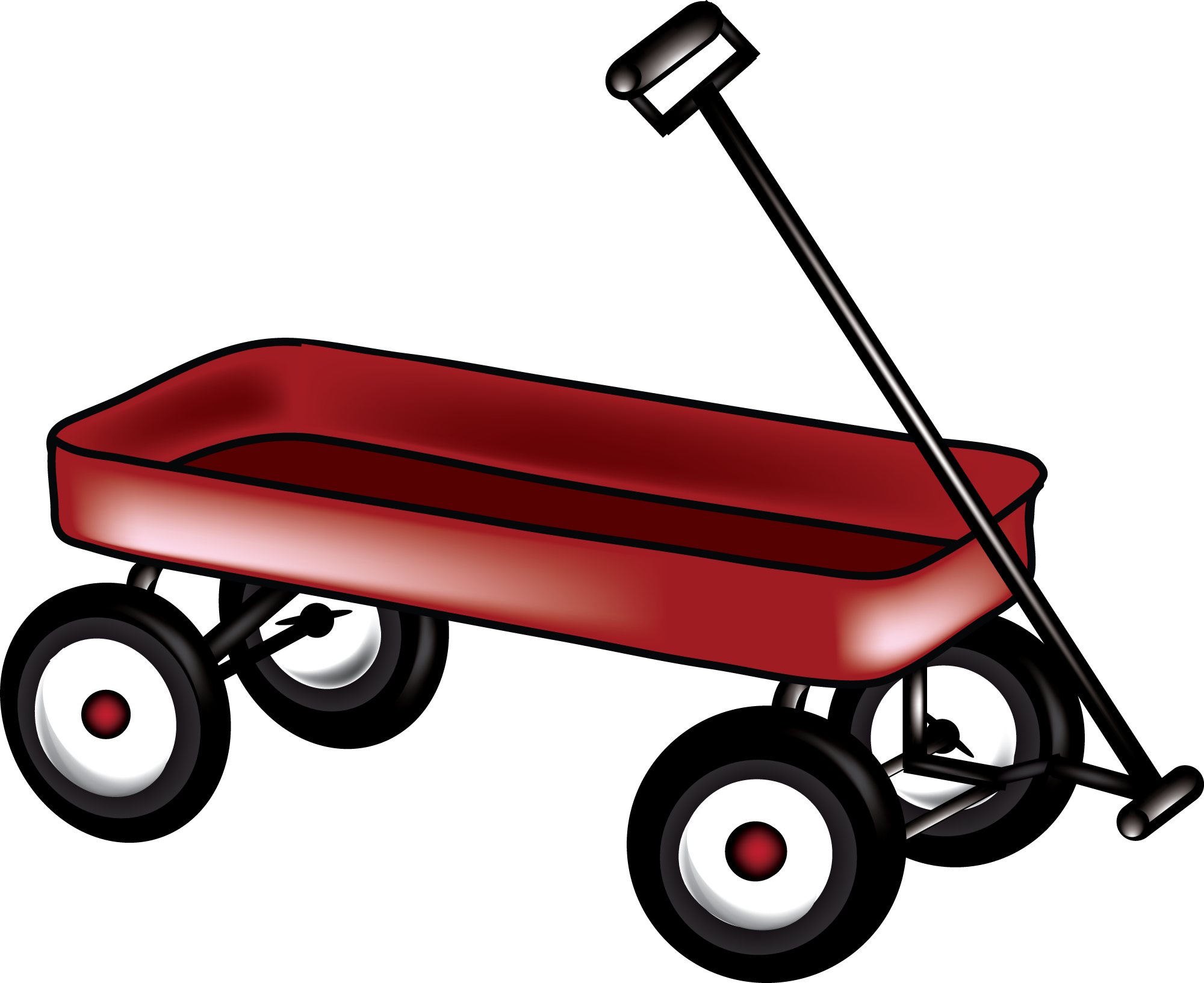 Images For > Clip Art Red Wagon