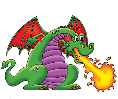 Picture Of A Dragon Breathing Fire - ClipArt Best