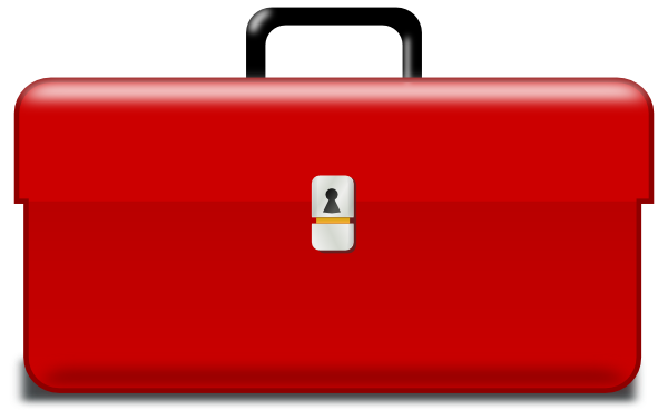 Tool Box clip art - vector clip art online, royalty free & public ...