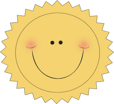 Happy Sun Clip Art - Happy Sun Image