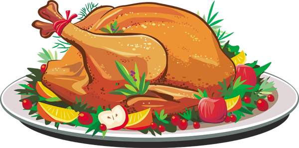 clipart christmas dinner pictures - photo #42