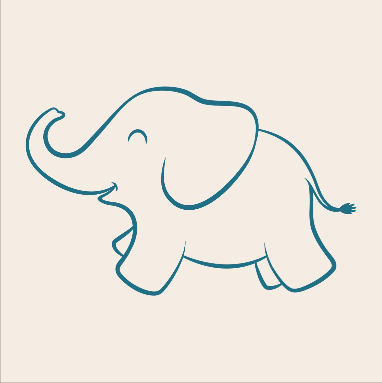 Free Elephant Template Baby Elephant Stencil Cliparts Co