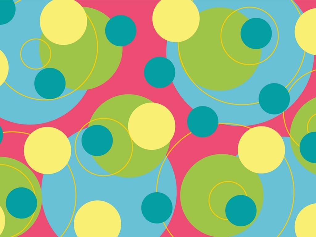 Rainbow polka dot wallpaper for Polka dot wallpaper