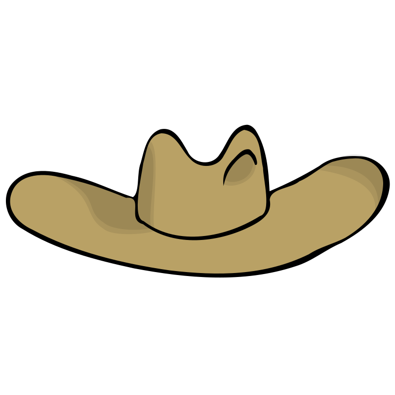 Clipart Cowboy Hat And Boots