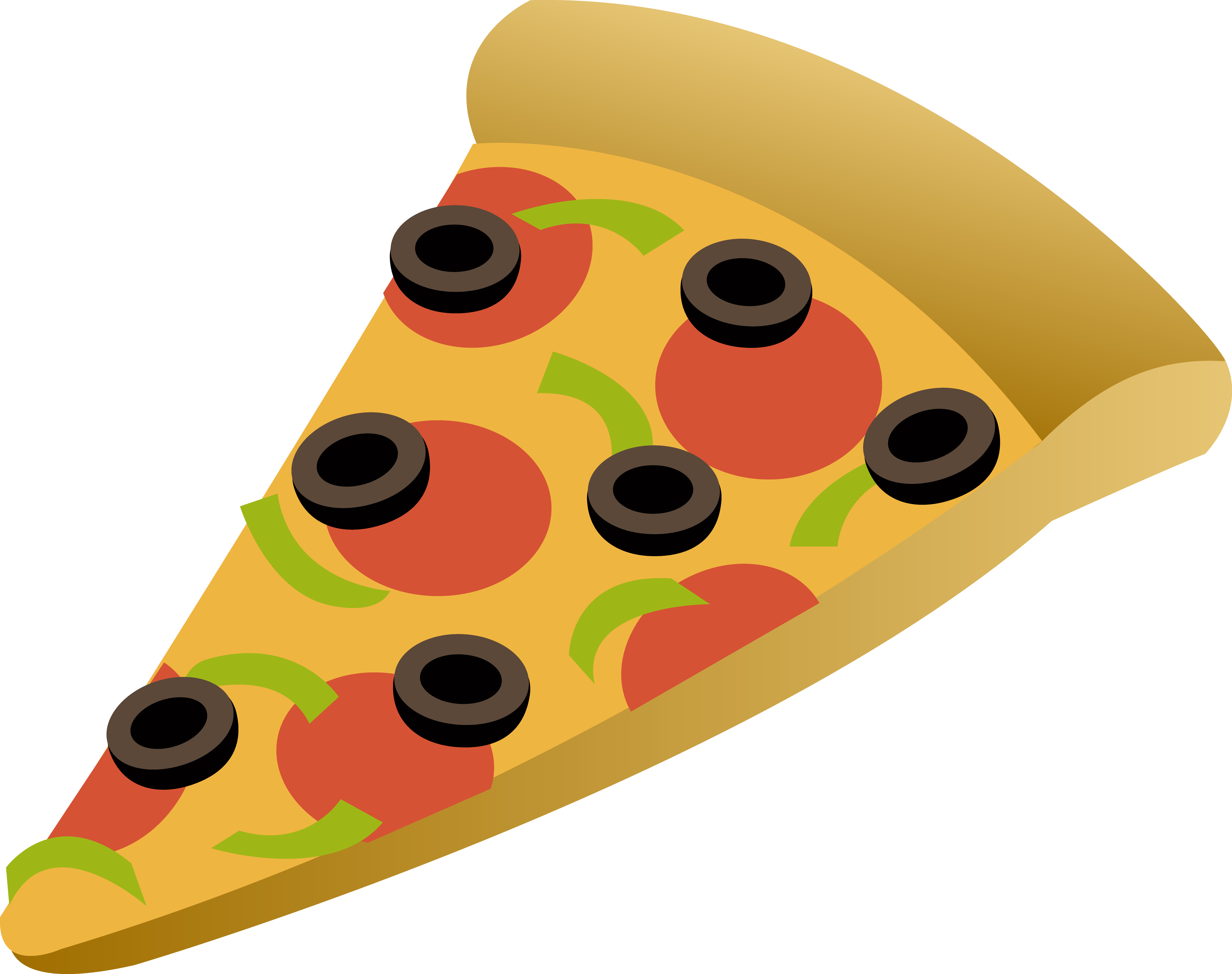 Pizza Slice Clipart | Clipart Panda - Free Clipart Images