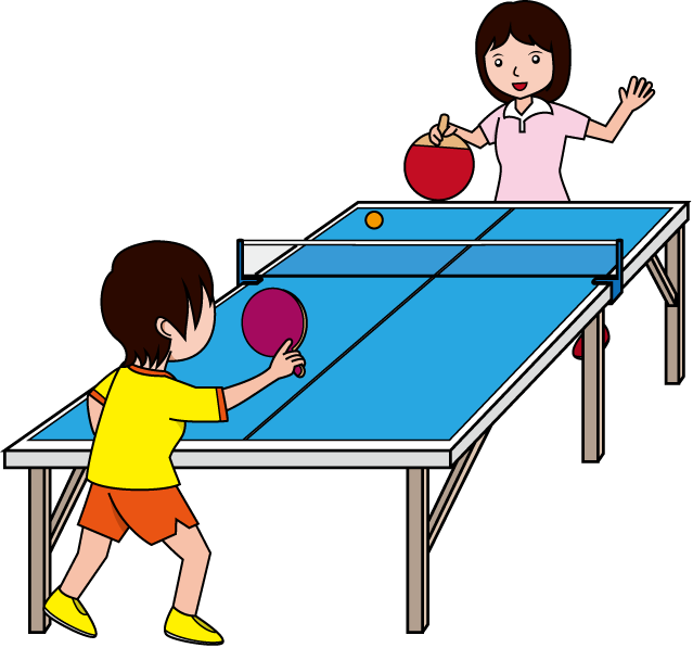 playing ping pong online
