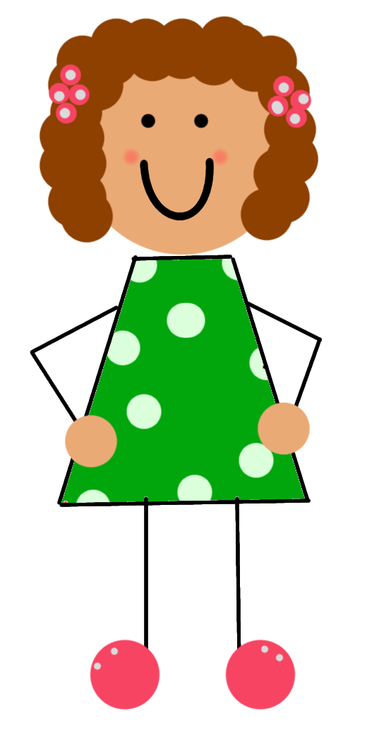 Girl Student Thinking Clipart