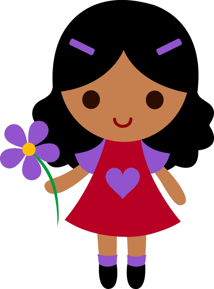 Little Girl Clip Art Free