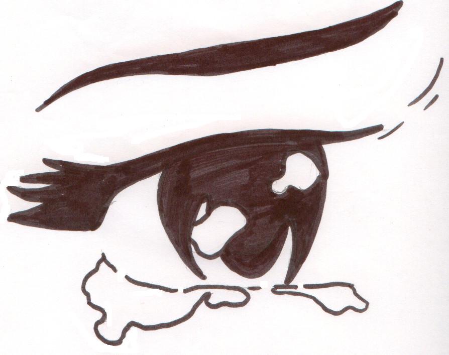 how to draw eyes fske