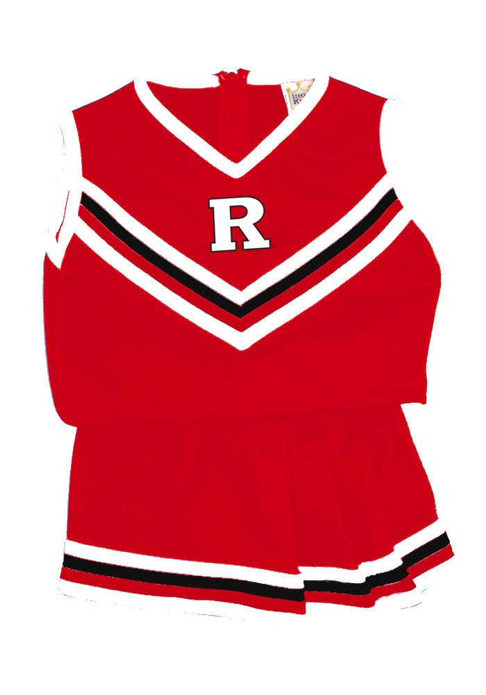 Rutgers Scarlet Knights Toddler Red Logo Cheer Set