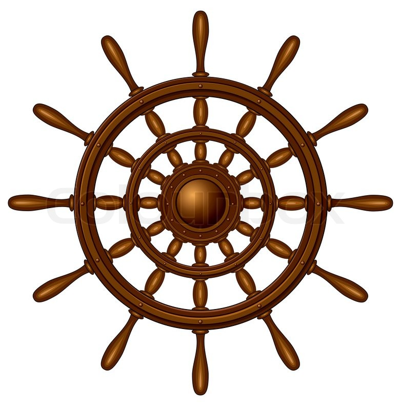 clipart ship steering wheel - photo #25