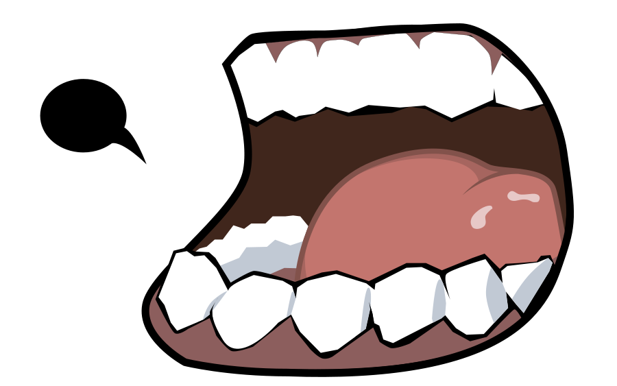 Mouth and Teeth small clipart 300pixel size, free design ...