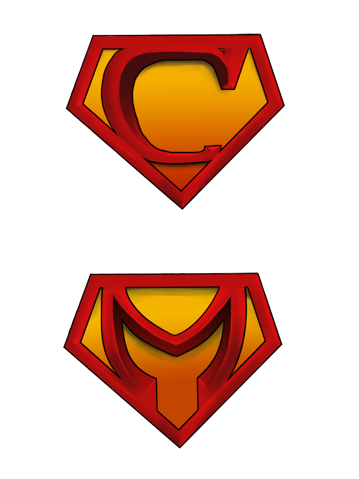 superman vector logo cliparts co superman logo with different letters and colors superman logo with different letters download