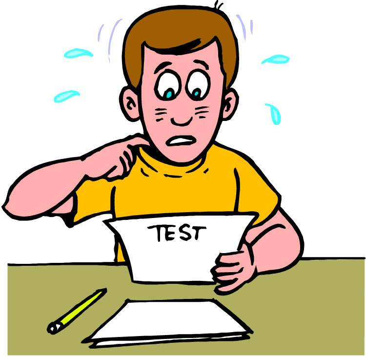 test anxiety clipart - photo #45
