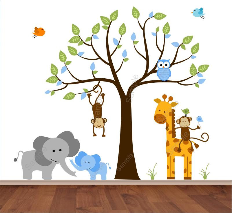 Popular items for zoo animal nursery on Etsy