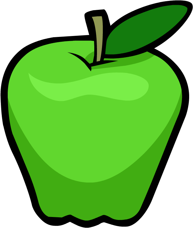pictures of green apples clipartsco