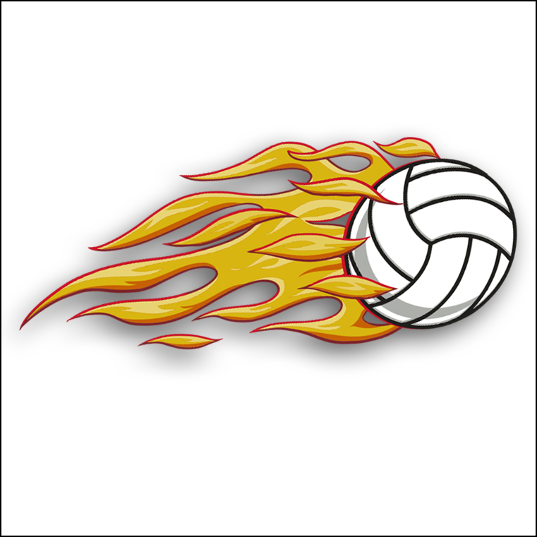 Volleyball Clipart | Volleyball Clipart Kit