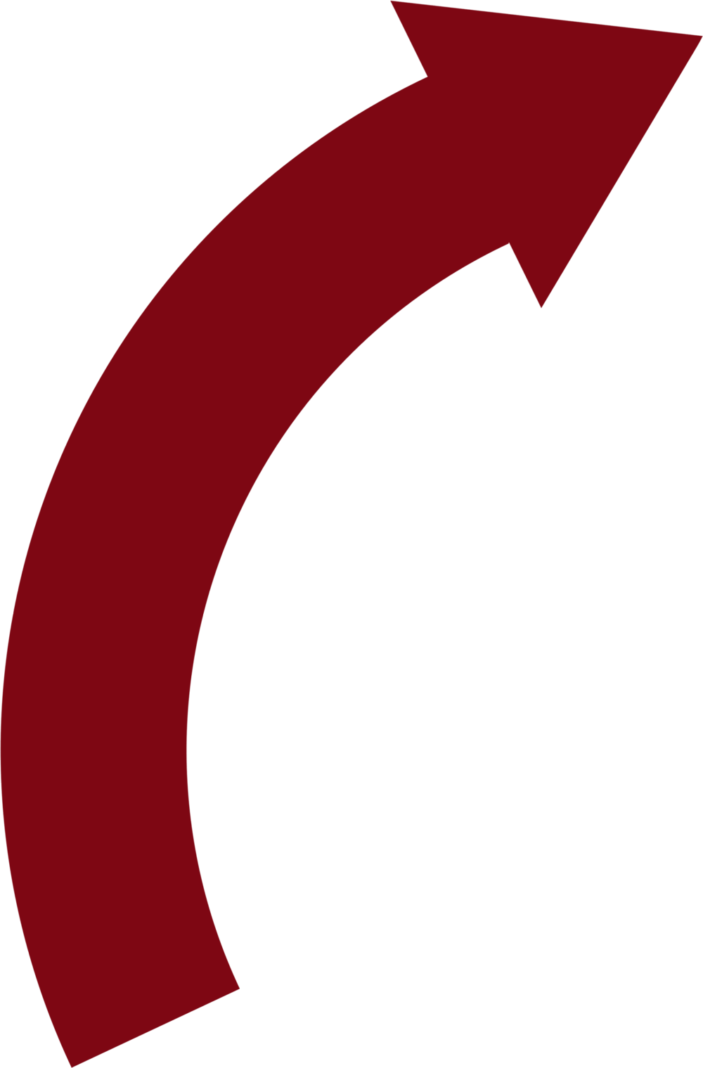 Curved Arrow Png - Cliparts.co