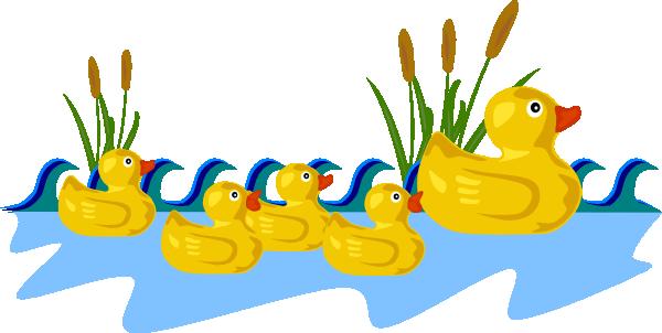 Yellow Baby Ducks Clip Art Cute Duck Clipart  Clipart