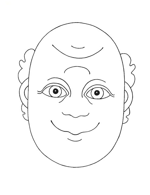 happy sad coloring pages - photo#27