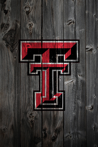 Texas Tech Red Raiders Wood iPhone 4 Background | Flickr - Photo ...