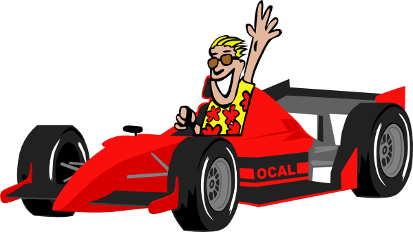 race car driver clipart rh worldartsme com Race Car Outline Clip Art Race Car Clip Art Borders
