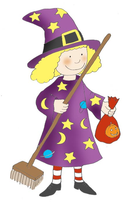 Halloween Witch Pictures - Cliparts.co