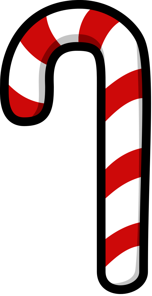 Candy Cane Clipart by darkness3560 : Christmas Cliparts #4845 ...