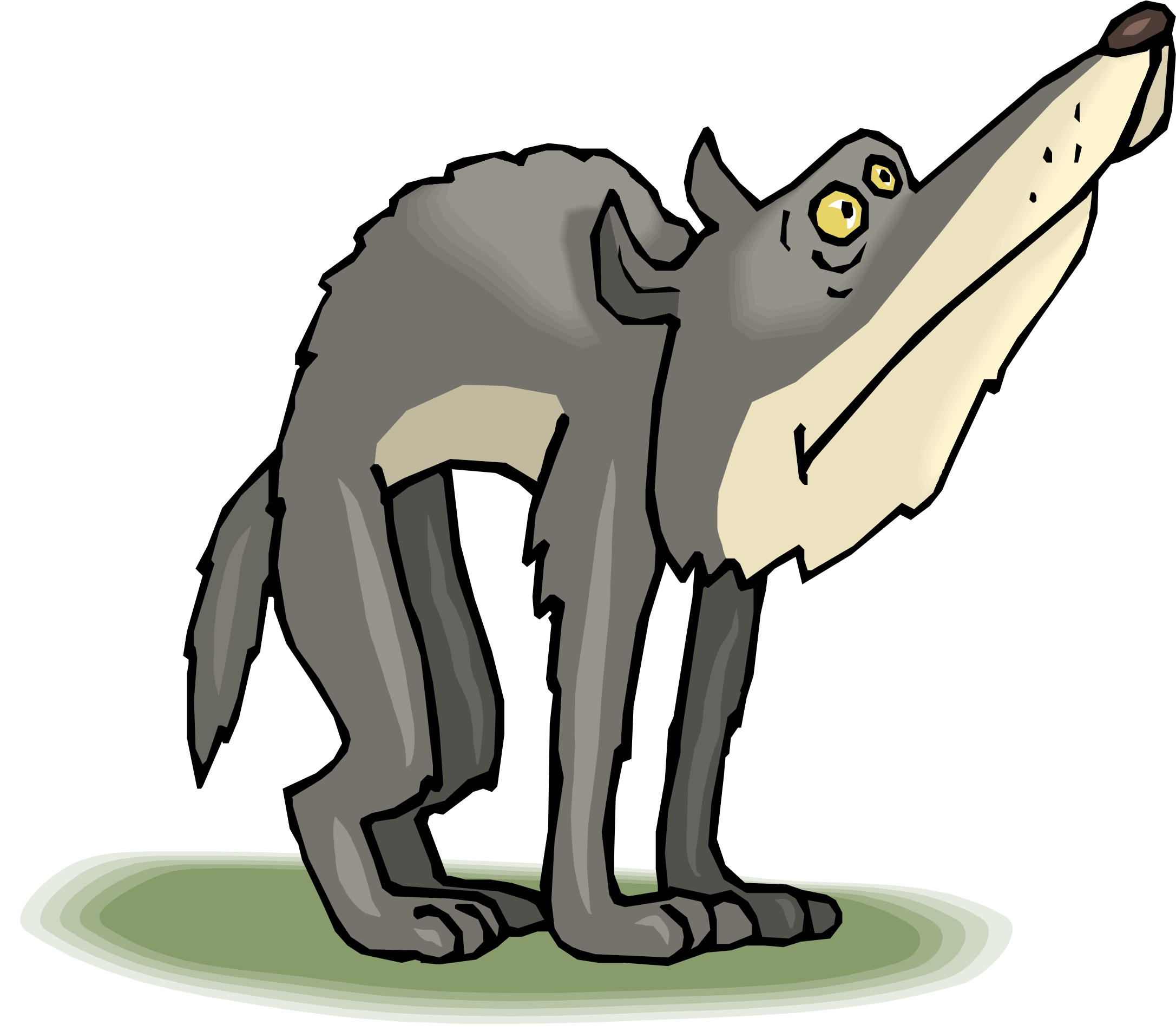 Wolf Cartoon Picture Cliparts Co