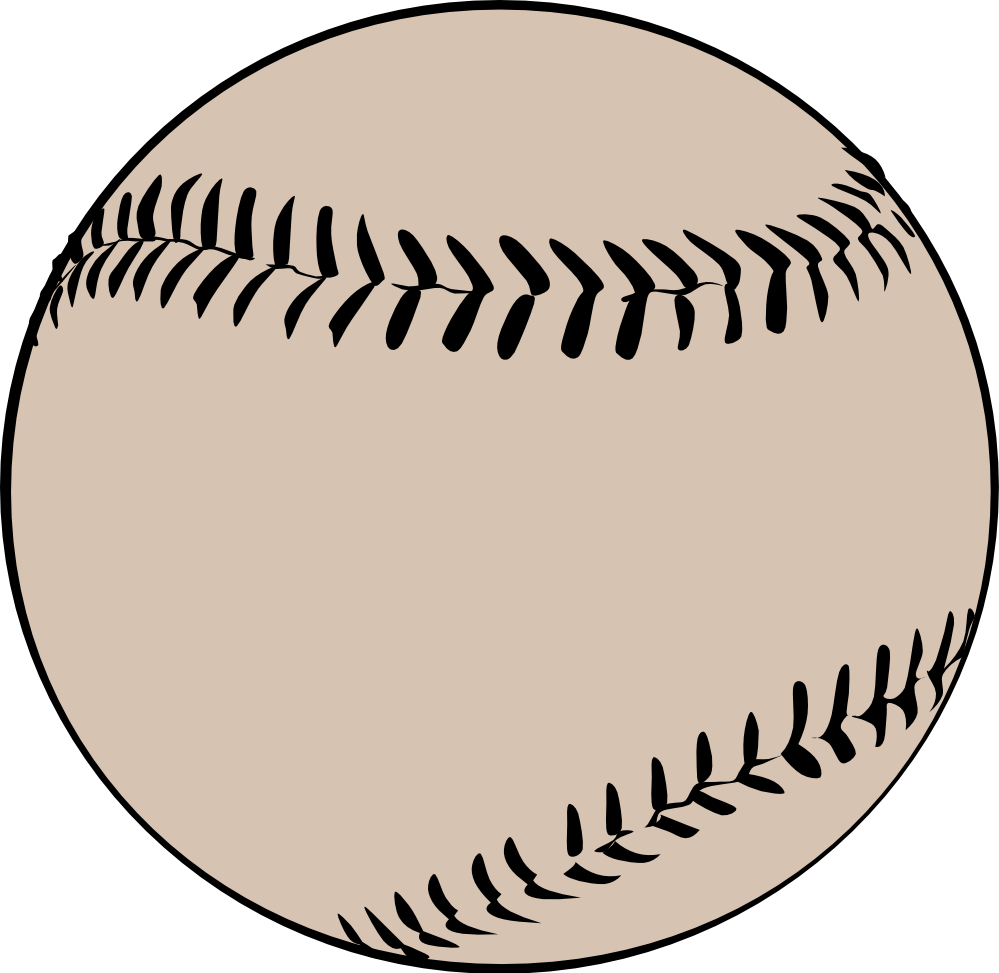 clipartist.net » Clip Art » baseball offwhite wall paper scallywag ...