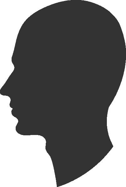 Head Profile Silhouett...