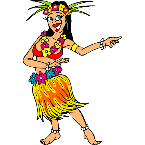 hawaiian dancer clipart rh worldartsme com