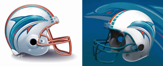 OT: New Miami Dolphins logo... - Printable Version