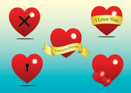 Free Heart Vector Clip Art Vector Heart - Free vector for free ...