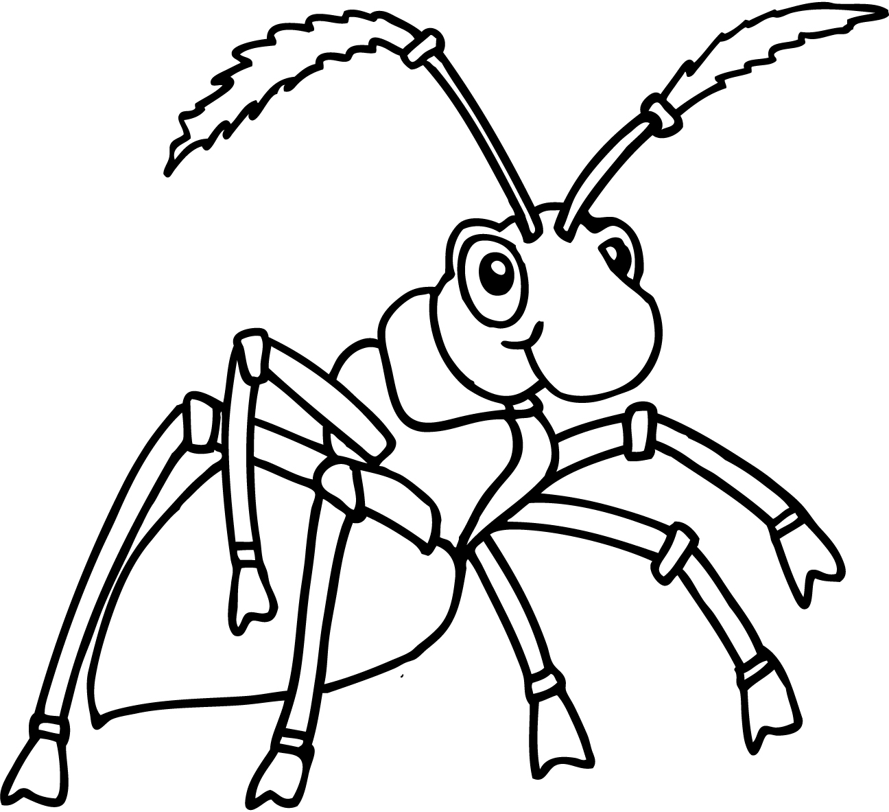 astonishing ant coloring pages printable with page