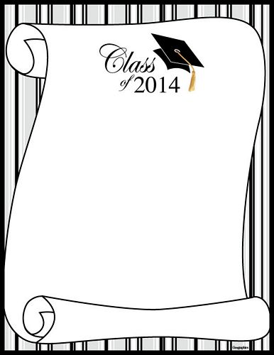 templates for graduation certificates
