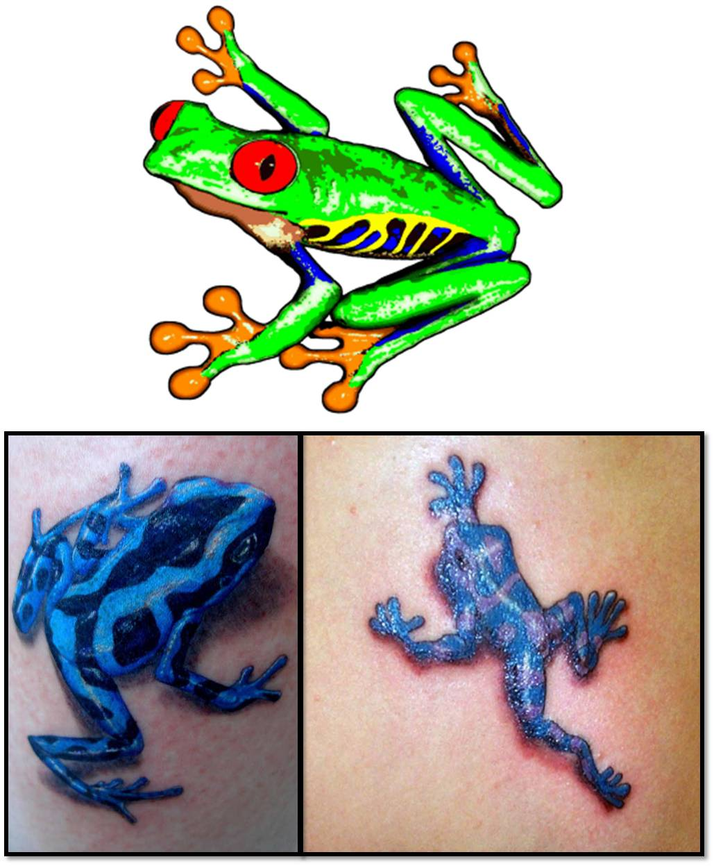 Frog Tattoos Pictures - ClipArt Best