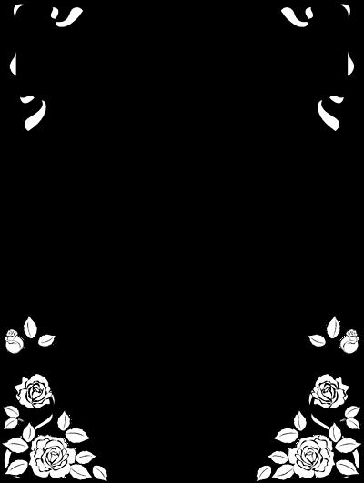 Vine Border Clipart Black And White | Clipart Panda - Free Clipart ...