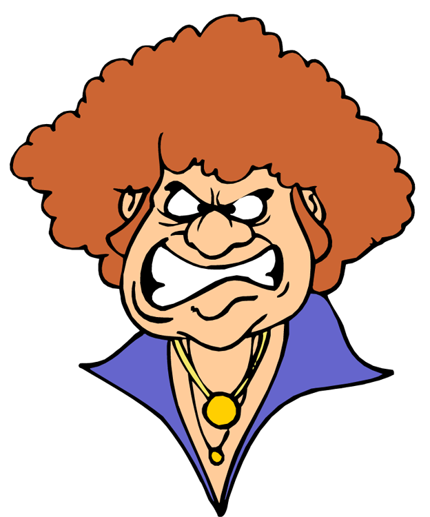 Angry Woman Cartoon - Cliparts.co