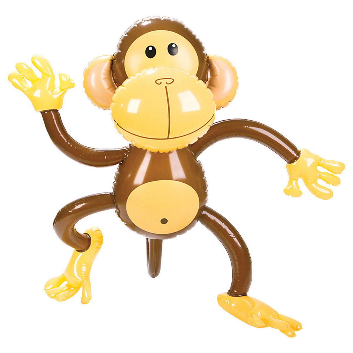 Hanging monkey template - Monkey balloons for baby shower ...