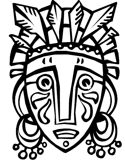 african drum coloring page - free coloring pages of cultures of africa