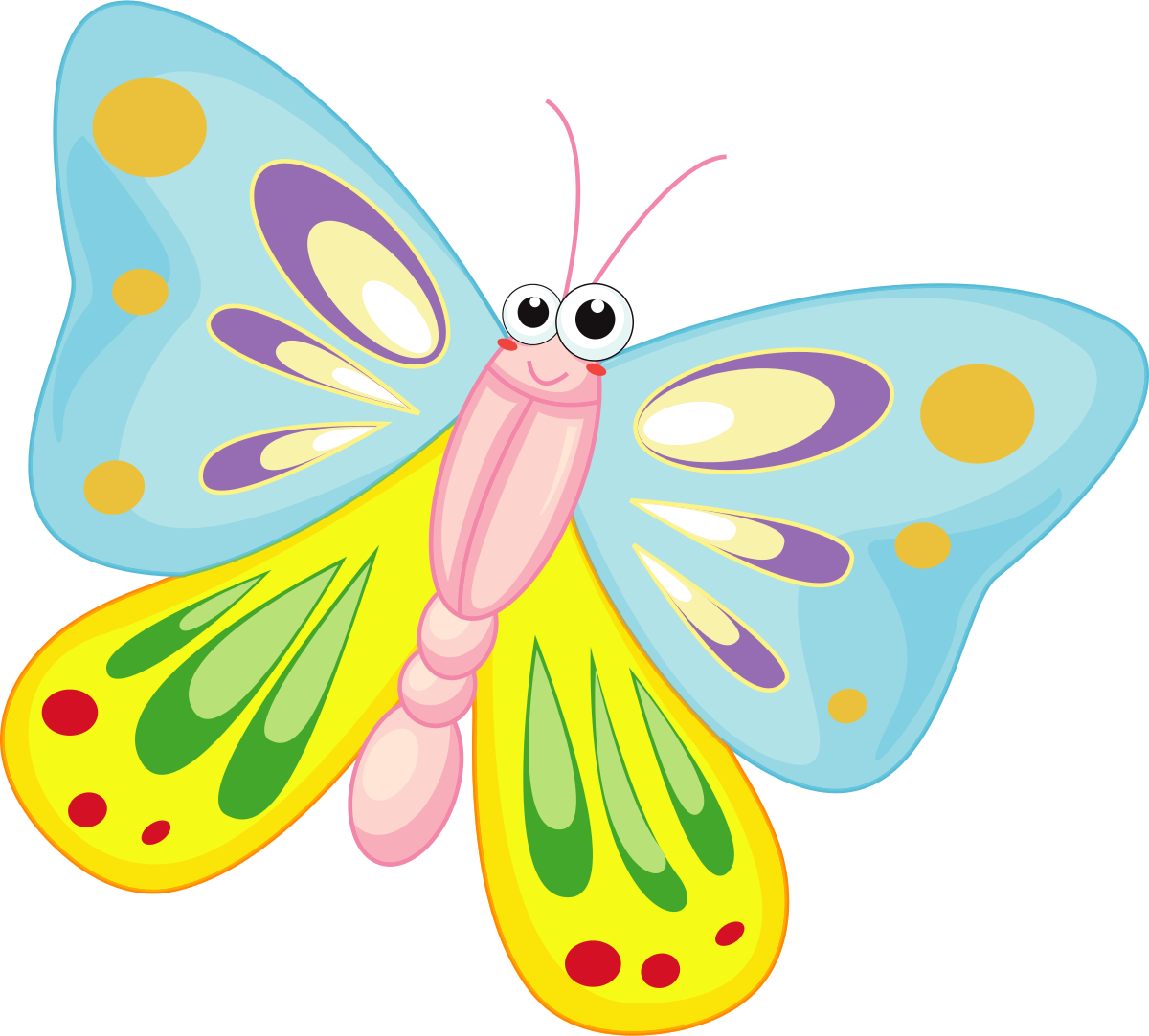 animated butterfly clipart free - photo #47