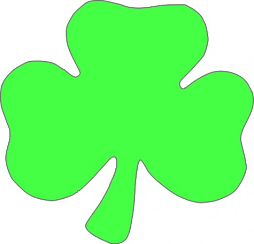 Outline Of Shamrock - Cliparts.co