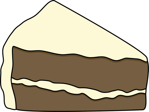 Slice Of Cake Clipart - Cliparts.co