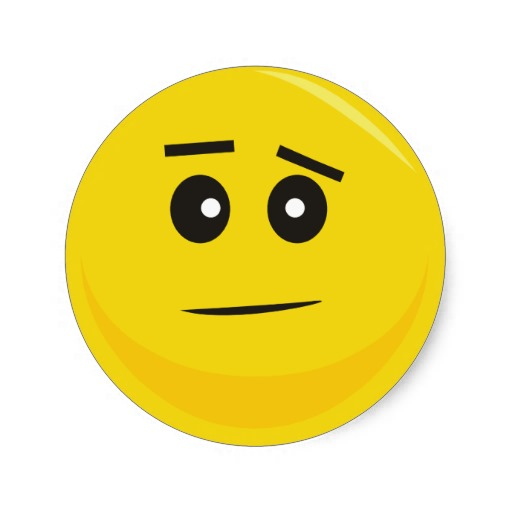 Confused Smiley - Cliparts.co