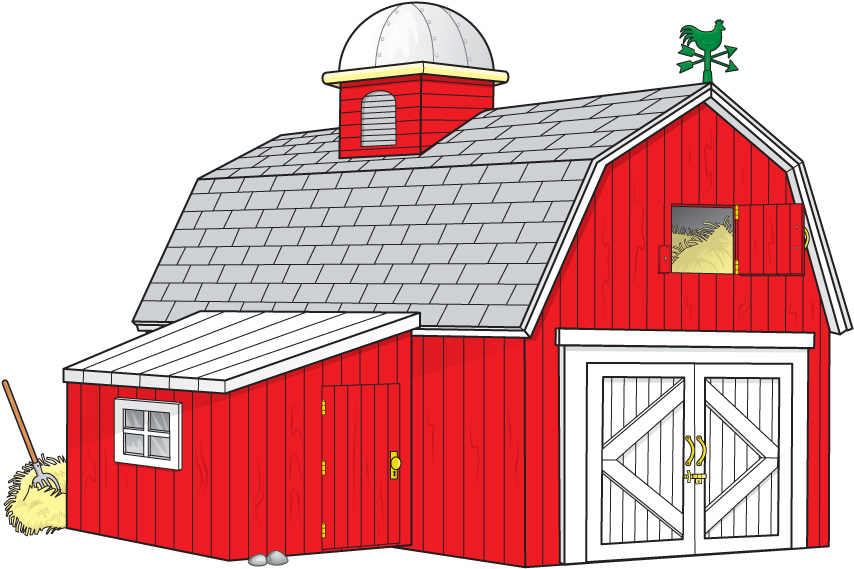 Cartoon farm images for Farm house