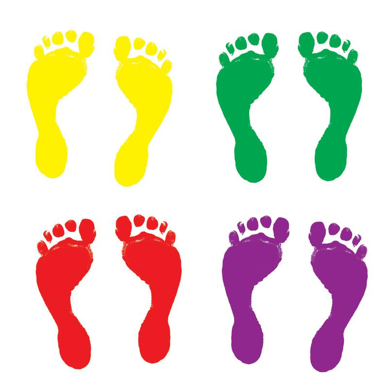 Images Of Footprints - Cliparts.co